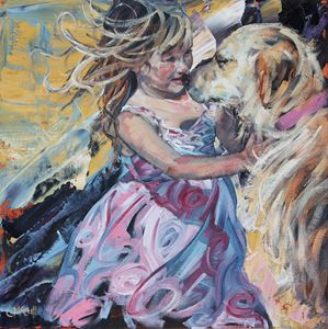 Puppy Love - ClaireMcCallArt