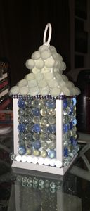 Glass Beaded Lantern