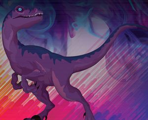 Raptor's last moments