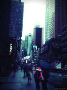 Rainy Day New York City