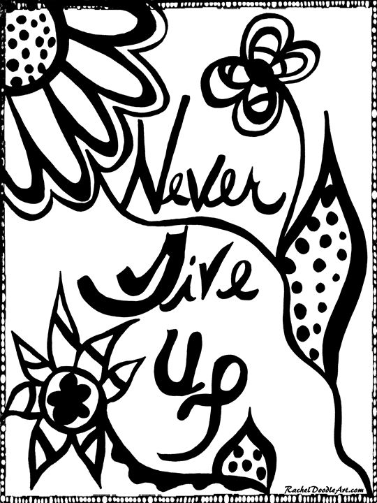 Never Give Up - Rachel Maynard