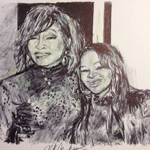 Whitney Houston & Bobbi Kristina
