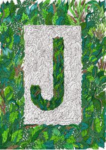 Letter J (Jardin)