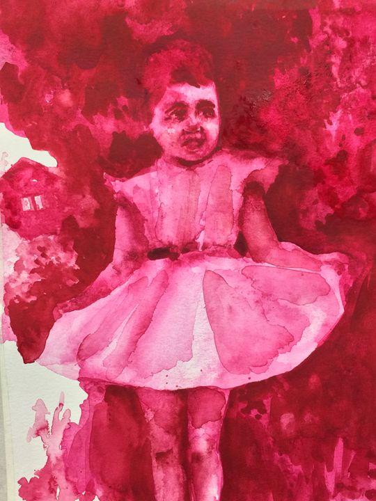 Benjamin Martins - Rose Red 2015 - Benjamin Martins Art