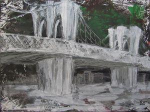 Abstract Brooklyn Bridge 1