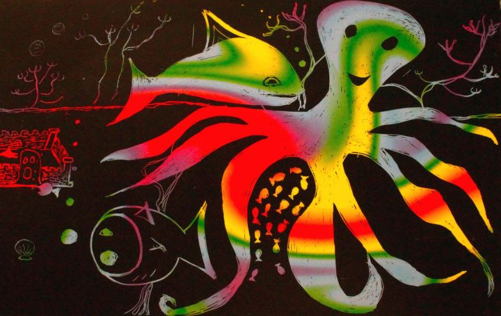 Under the Sea - Aaron's Artwork