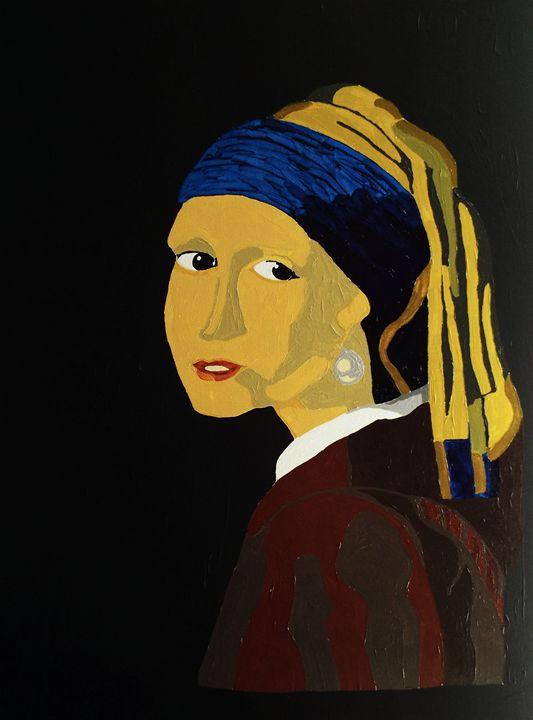 Girl with the pearl earring - E. Gutierrez