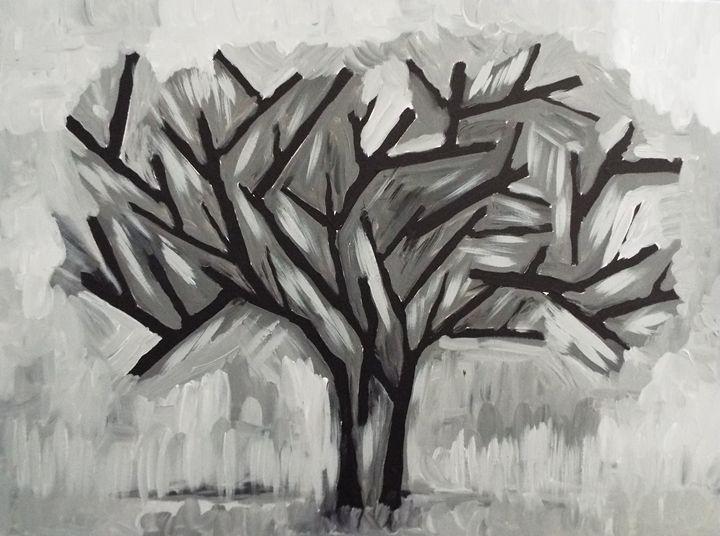 Black and White Tree - E. Gutierrez