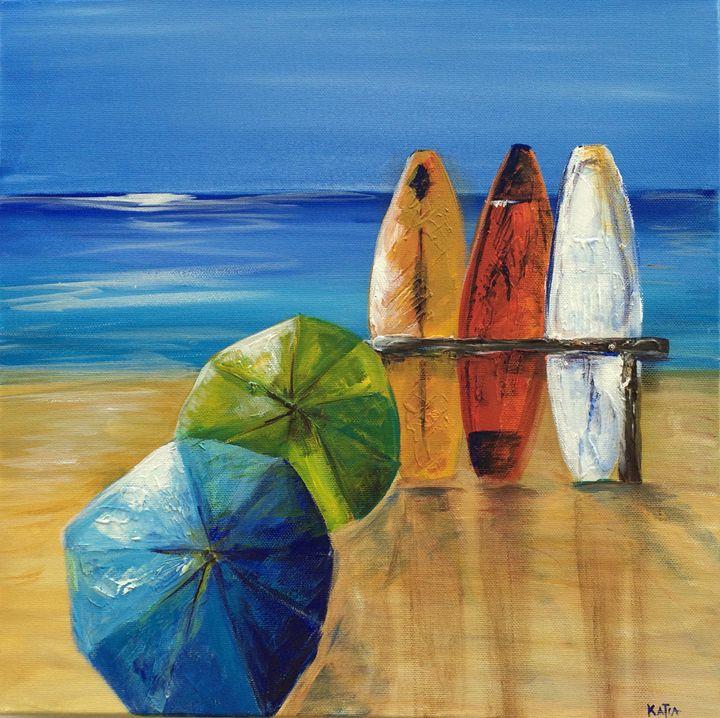 Beach Day (B010) - KATIA-ART