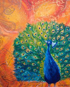 Peacock and Paisley - Hazy Moon Studios
