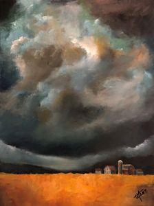 Prairie Thunderstorm - Terry Orletsky