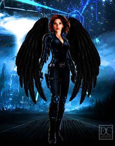 Black Widow (11x14)