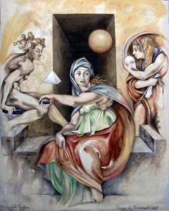 Homage to Michelangelo #2