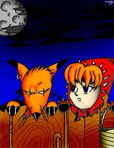 Bad bad fox