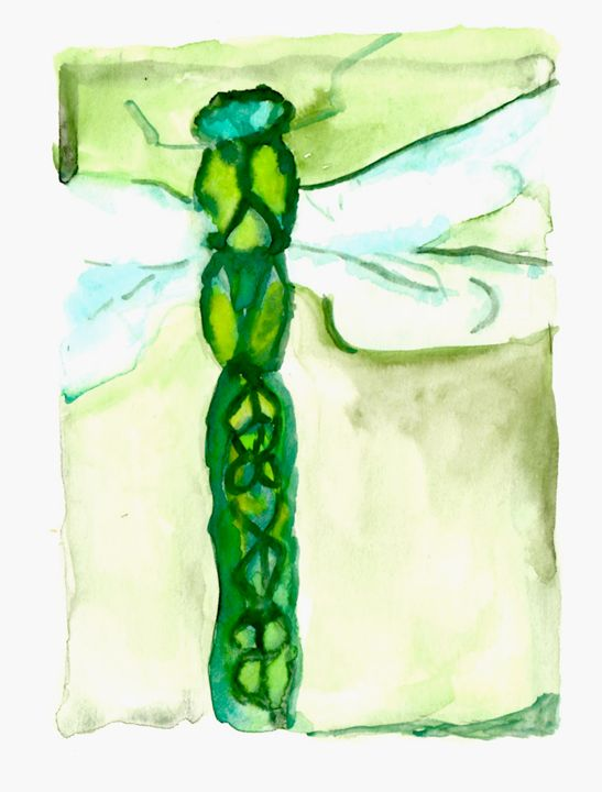 Dragonsighfly - Art by Tea Silvestre Godfrey