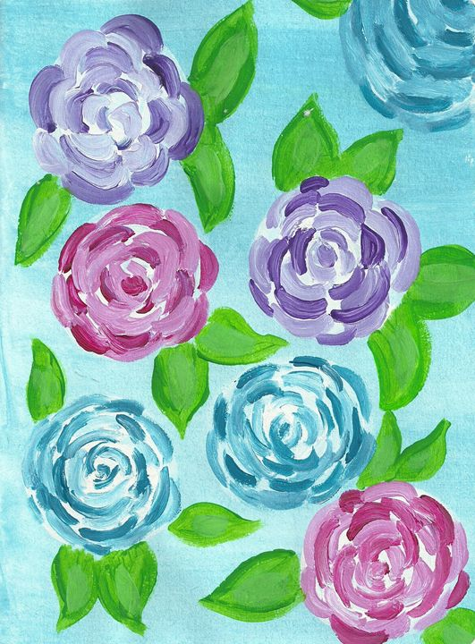 Colorful Florals - Colleen Catherine
