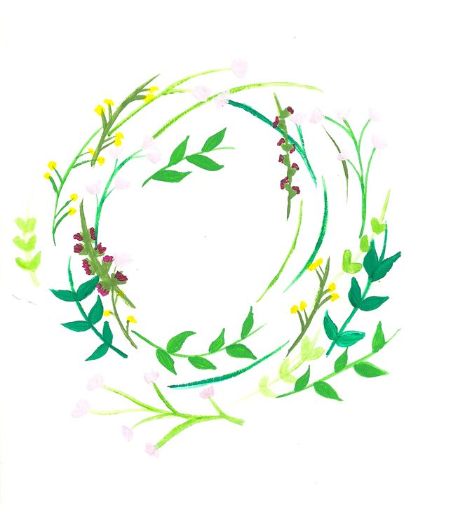 Floral Wreath - Colleen Catherine