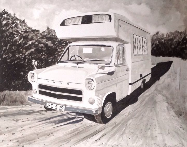 Mk.1 Ford Transit Campervan - Sid Fox Gallery