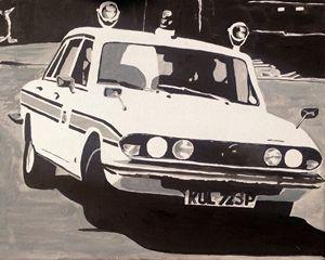 Triumph 2500 TC Police Car