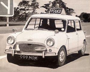Mini Cooper S Police Car
