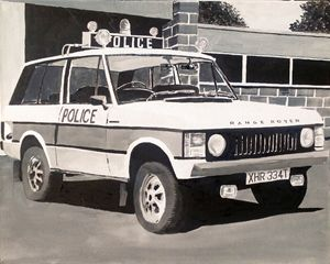 Range Rover Police Car