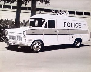 Mk1 Ford Transit Police Van