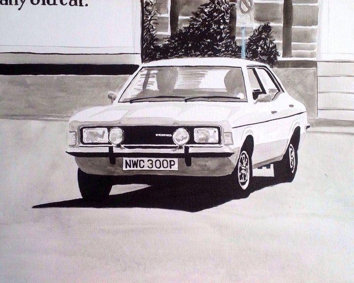 Mk.3 Ford Cortina 2000GT - Sid Fox Gallery