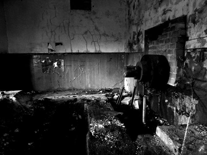Abandoned Colliery Machinery - Tahlia paige