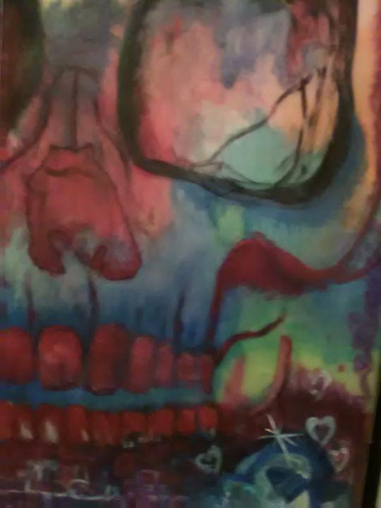 Graffiti Skull - Featherz