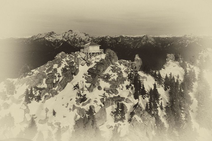 Fire Lookout Tower - Fight to Fly Photography