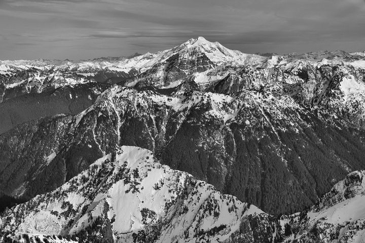 Glacier Peak - Fight to Fly Photography