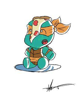 Baby Michelangelo