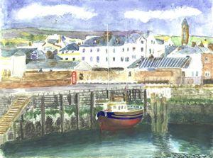 Peel Harbour Isle of Man