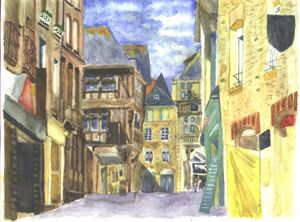 Medieval Town Dinan 2 Brittany