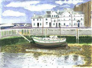 Green Boat Casteltown Isle of Man
