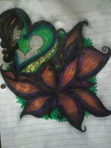 Mother's loving lotus