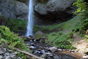 Lattorel Falls, View III
