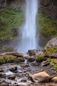 Lattorel Falls: View I