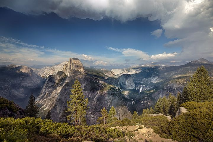Glacier Point Yosemite National Park - Saco River Art & Photography