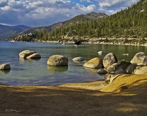 Secret Harbor,  Lake Tahoe - Saco River Art & Photography