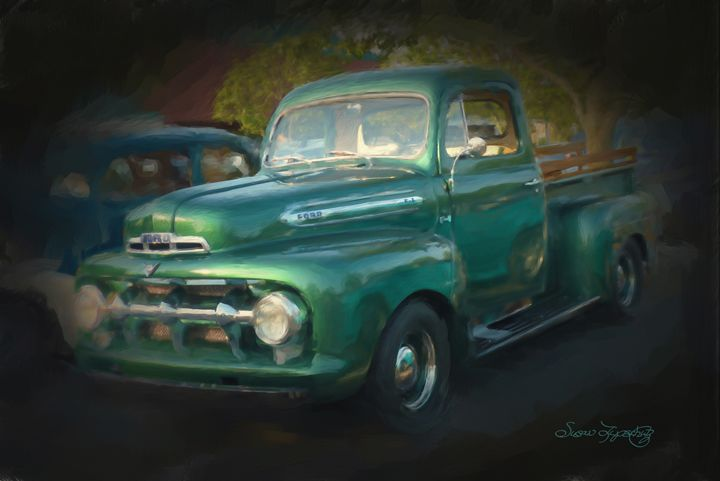 1937 FORD PICK UP TRUCK - SHAYNA PHOTOGRAPHY