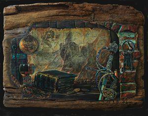 Casterly Rock - Sergey Lesnikov art