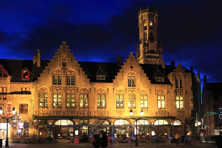 Belfort tower, Belfry Bruges City - Dave Porter Landscape Photography