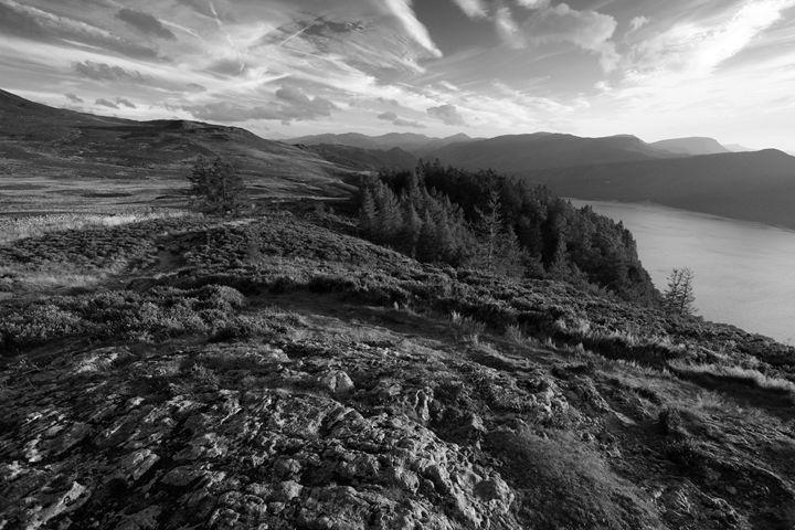 Walla Crag Fell Lake District UK - Dave Porter Landscape Photography