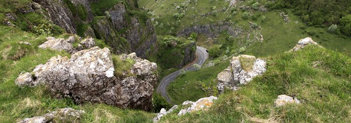 Limestone cliffs of Cheddar Gorge - Dave Porter Landscape Photography