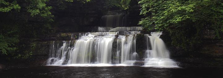 Cotter Force waterfall, River Ure - Dave Porter Landscape Photography