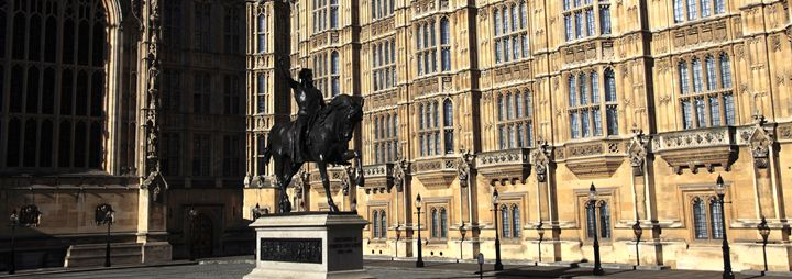 Richard I Statue Houses Parliament - Dave Porter Landscape Photography