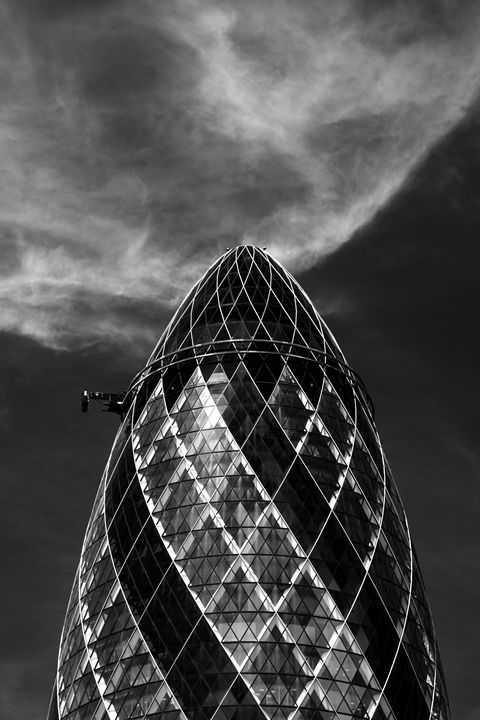 Swiss Bank Building Gherkin London - Dave Porter Landscape Photography
