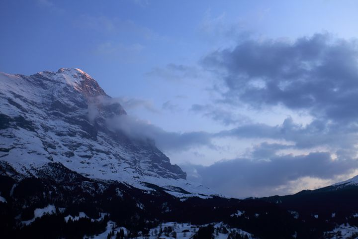 North face of the Eiger mountain - Dave Porter Landscape Photography