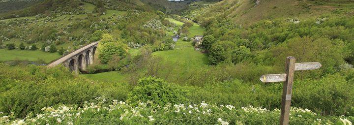 river Wye valley Monsal Head - Dave Porter Landscape Photography